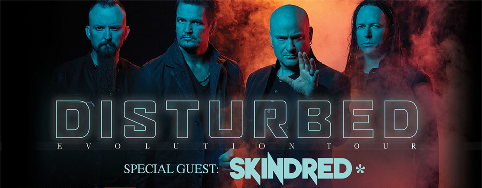 Disturbed / Skindred (Λονδίνο, Αγγλία – 11/05/2019)