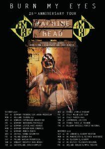 Machine Head – Επετειακή περιοδεία για το Burn My Eyes