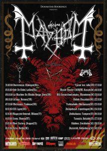 MAYHEM announce new album and European tour
