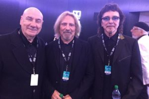 BLACK SABBATH Reunites With BILL  WARD At 'Grammy Salute To Music Legends'