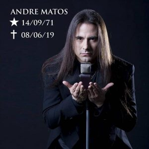 Former ANGRA vocalist André Matos dead at the age of  47!