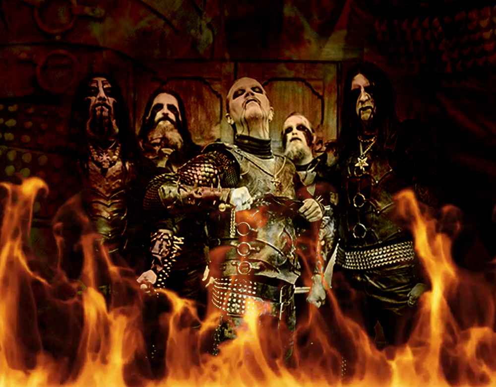 DARK FUNERAL get robbed of their stage clothes!