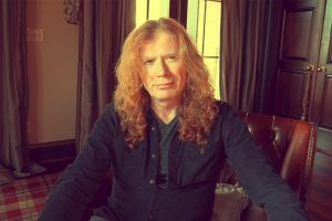 MEGADETH's leader Dave Mustaine was diagnosed with throat cancer!