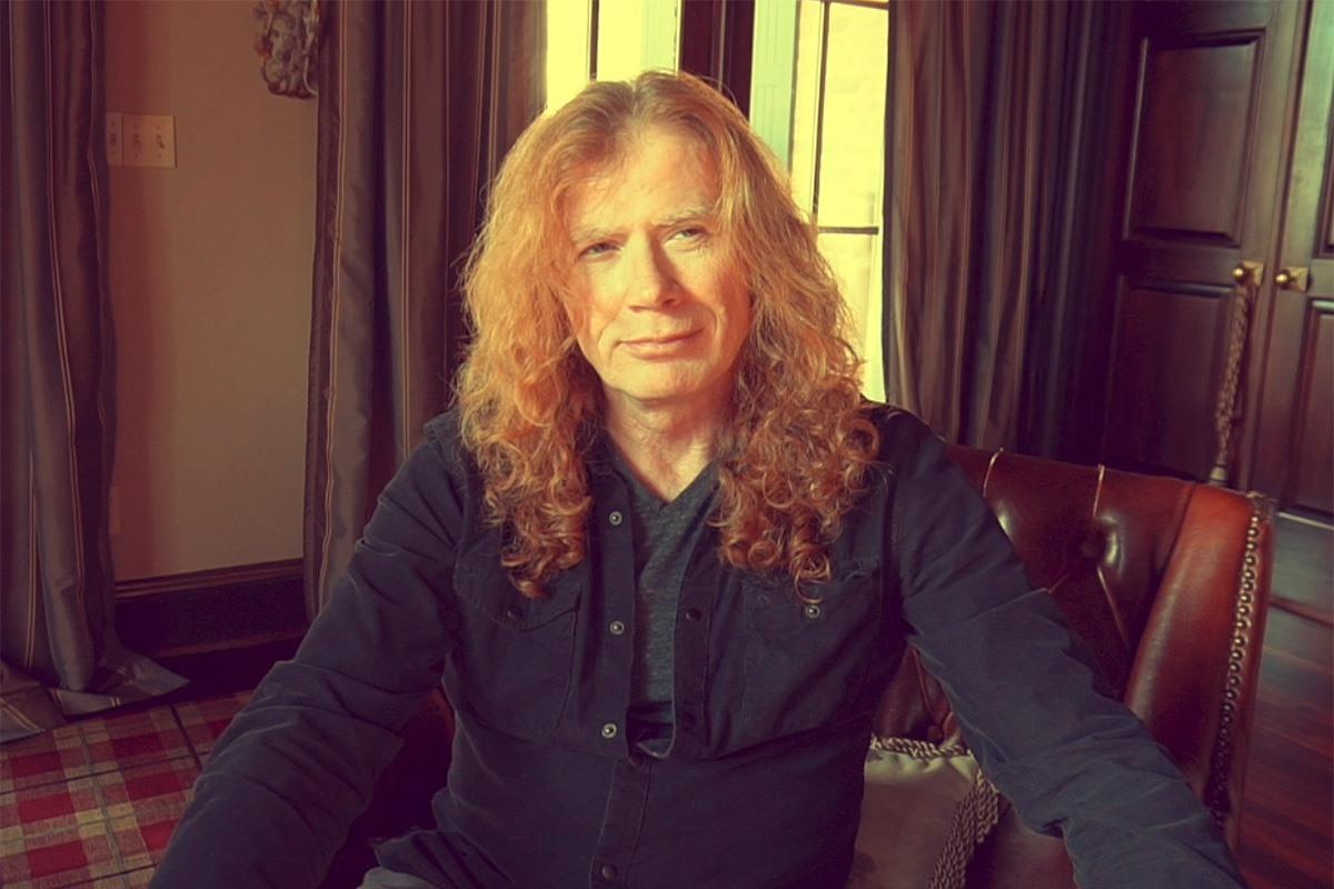 Ο ηγέτης των MEGADETH Dave Mustaine διαγνώστηκε με καρκίνο στο λάρυγγα!