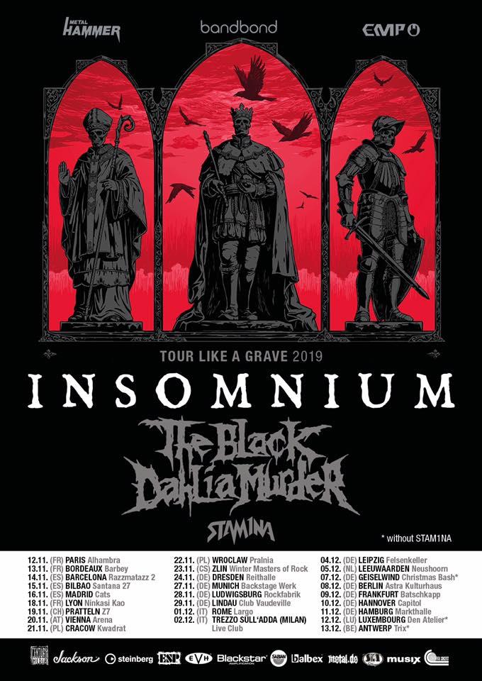Νέο άλμπουμ και Ευρωπαική περιοδεία για τους INSOMNIUM