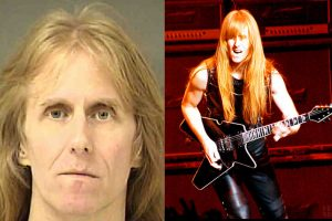 Ex-MANOWAR Guitarist KARL LOGAN  Booked Jailed  On Child Pornography Charges