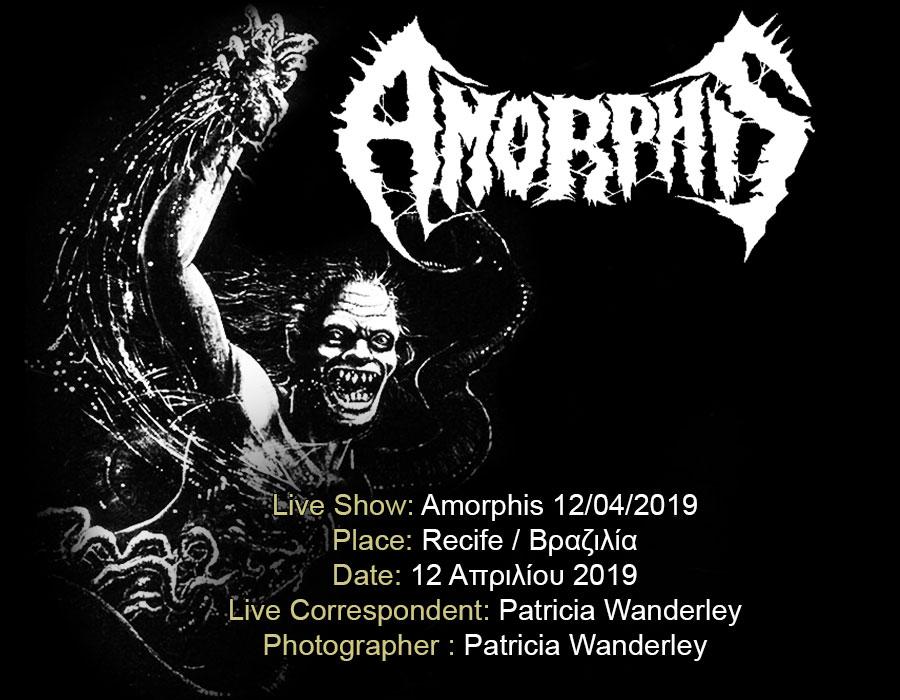 Amorphis  (12/04/2019, Recife / Brazil)