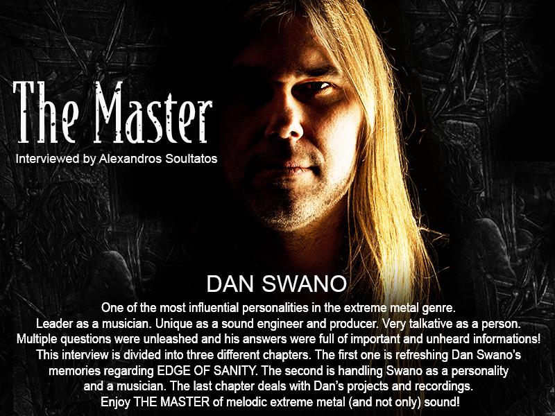 """Dan Swano, """"The Master"""""""