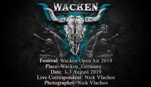 Wacken Open Air 2019 (Wacken, Germany – 01-03/08/2019)