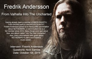 "Fredrik Andersson, ""From Valhalla Into The Uncharted"""