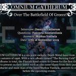 Omnium Gatherum InterviewEng