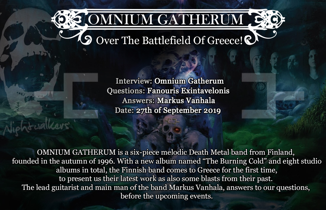 "Omnium Gatherum, ""Over The Battlefield Of Greece!"""