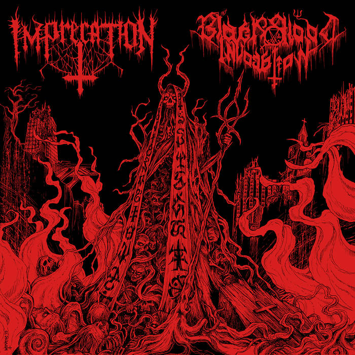 New split album from BLACK BLOOD INVOCATION/IMPRECATION in December