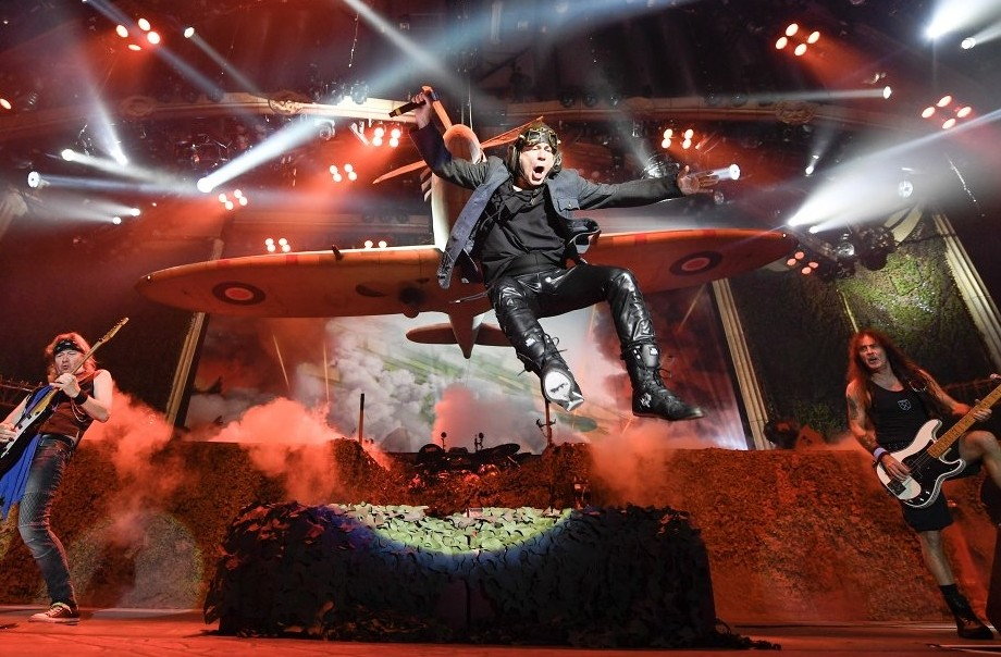 IRON MAIDEN performs elaborate and theatrical show at Rock in Rio 2019