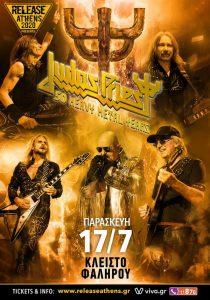 Release Athens presents: JUDAS PRIEST – 50 Heavy Metal Years!