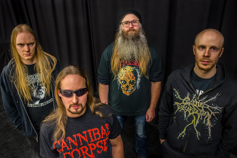 Swedish Death Metallers DERANGED enter the studio to record new full-length