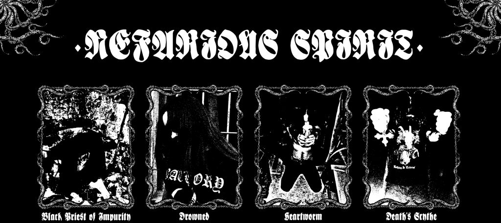 Τον Δεκέμβριο θα κυκλοφορήσει το split άλμπουμ των NEFARIOUS SPIRIT με τους VOID PRAYER