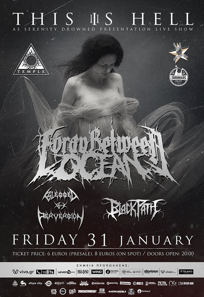 THIS IS HELL Vol.3 FORAY BETWEEN OCEAN 'As Serenity Drowned' release live special guests: BLESSED BY PERVERSION + BLACK PATH