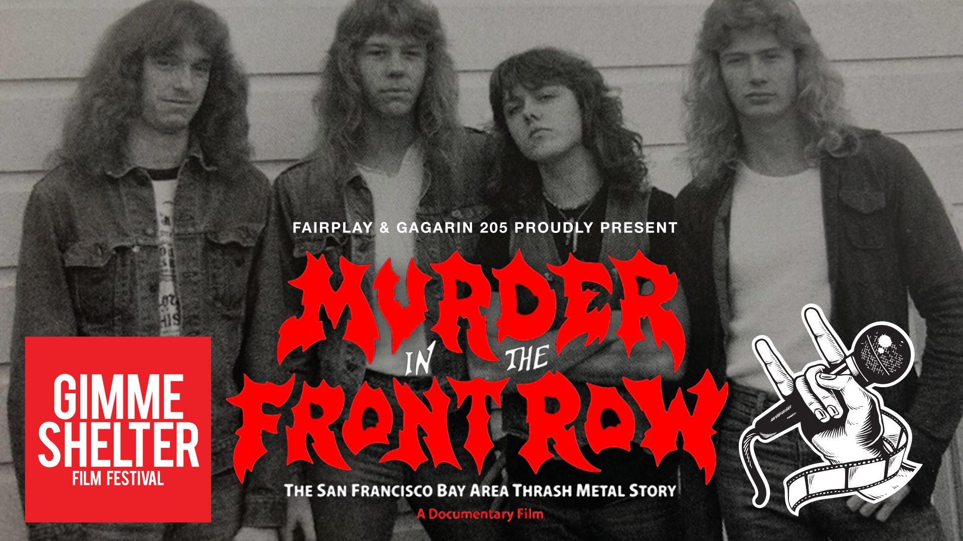 Διαγωνισμός THE GALLERY: Murder In The Front Row (+ Memorain live) at Gimme Shelter  (16/12/2019)