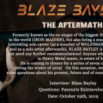 Blaze Bayley Header