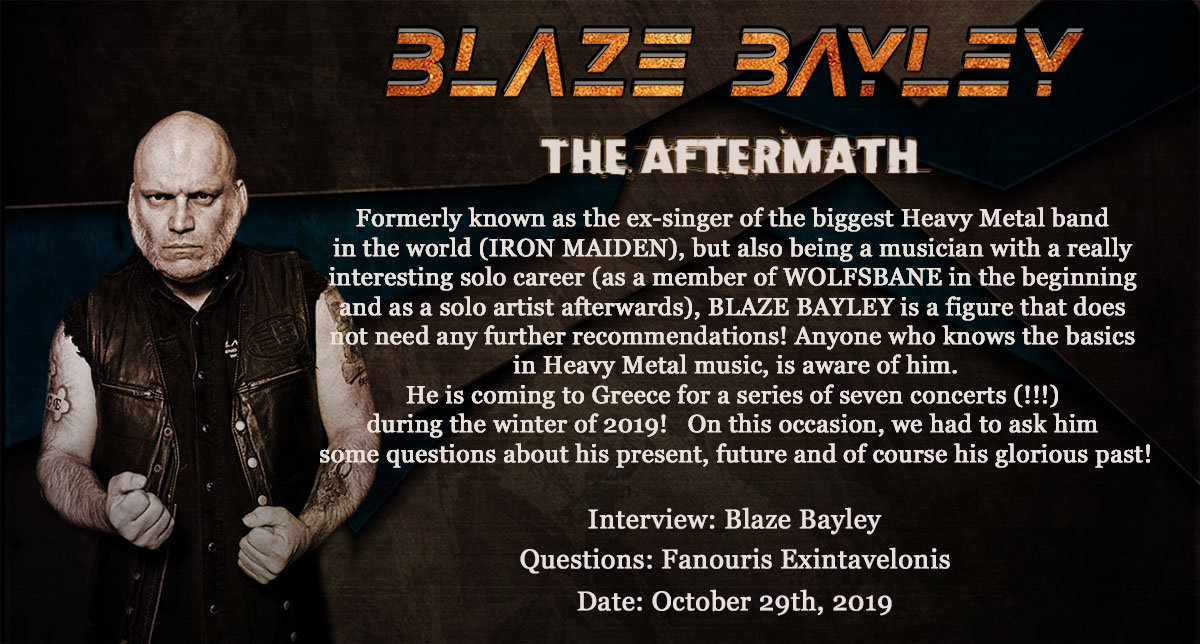 Blaze Bayley – The Aftermath