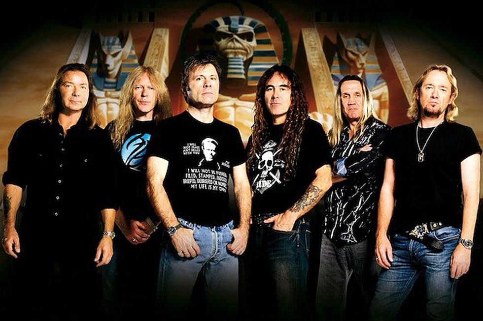 IRON MAIDEN is rumored to have completed work on new studio album