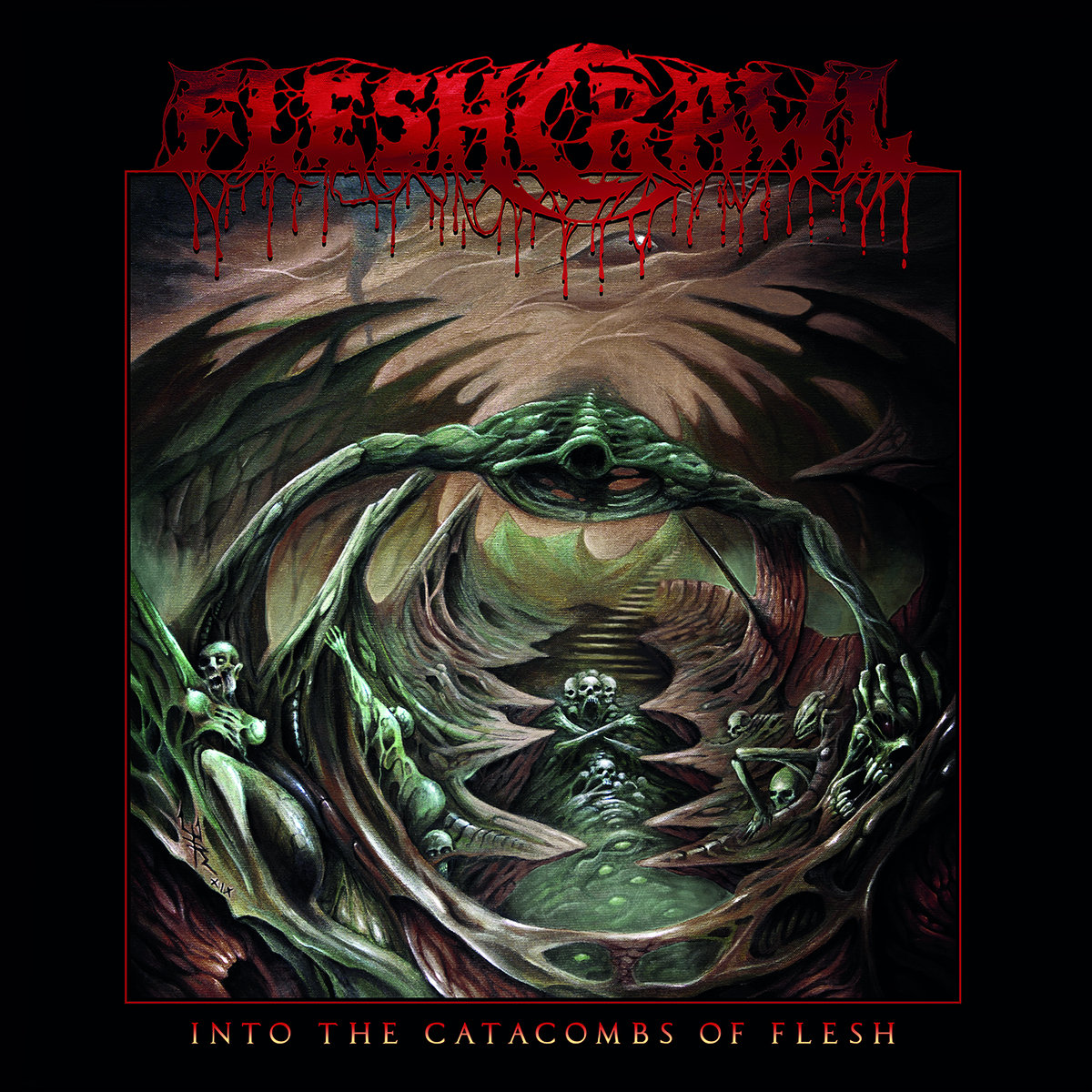FLESHCRAWL Releases New Album
