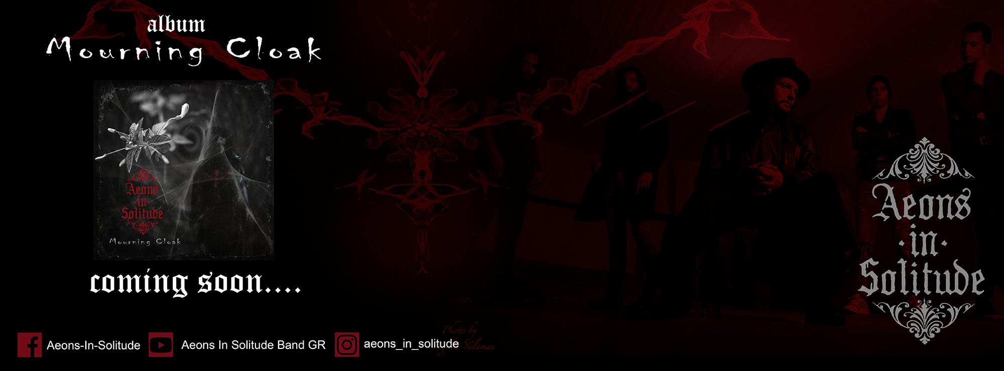 AEONS IN SOLITUDE – single 'White Witch' από το επερχόμενο άλμπουμ 'Mourning Cloak'…+Official video.