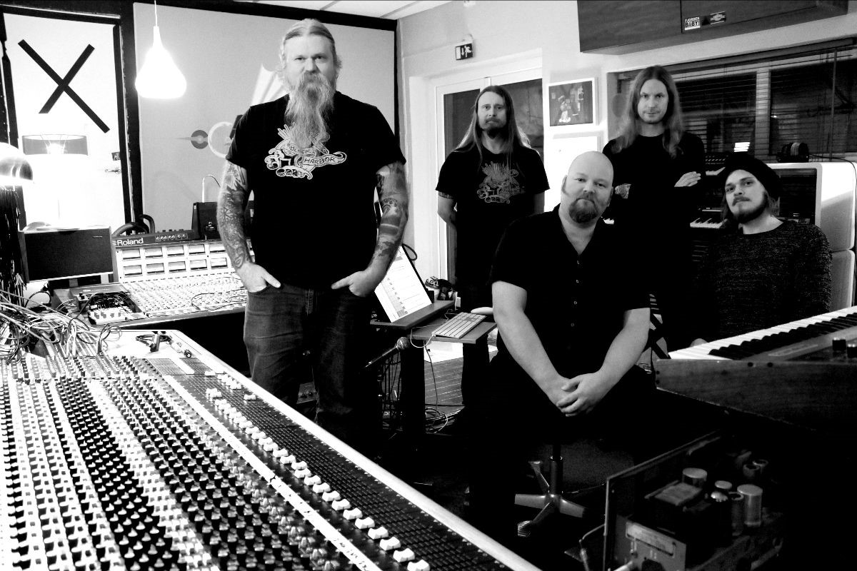 ENSLAVED enter the studio to record new album!