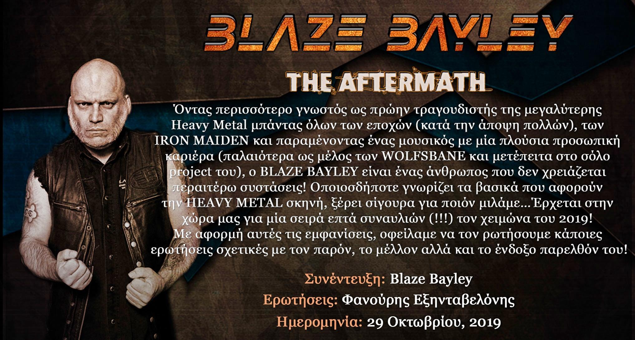 Blaze Bayley – The Aftermath