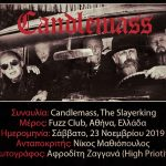 Candlemass, The Slayerking (Αθήνα, Ελλάδα – 21/11/2019)
