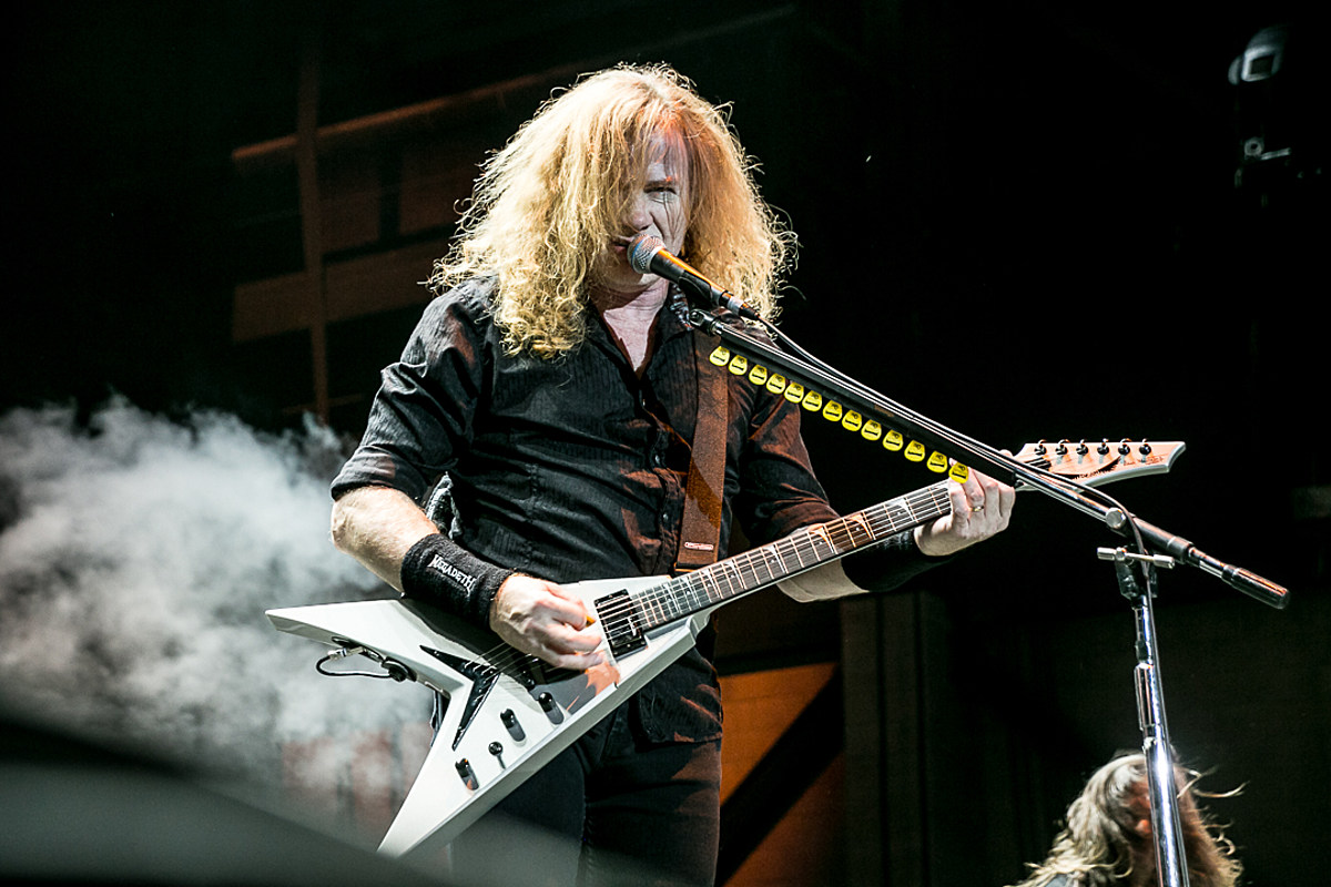 MEGADETH Plays First Show Since DAVE MUSTAINE's Cancer Diagnosis (Video)