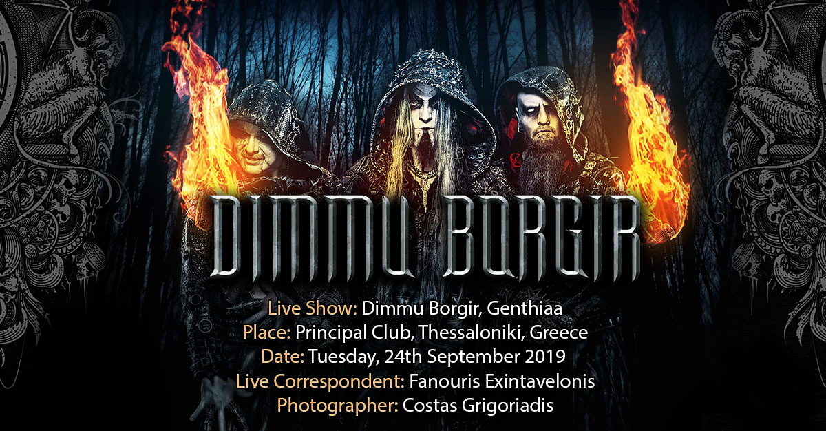 Dimmu Borgir, Gentihaa (Thessaloniki, Greece – 24/09/2019)