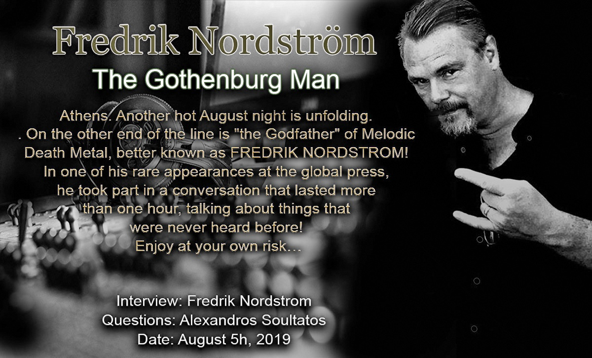 Fredrik Nordström – The Gothenburg Man