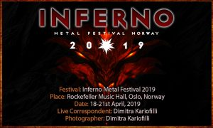 Inferno Metal Festival 2019 (Oslo, Norway – 18-21/04/2019)