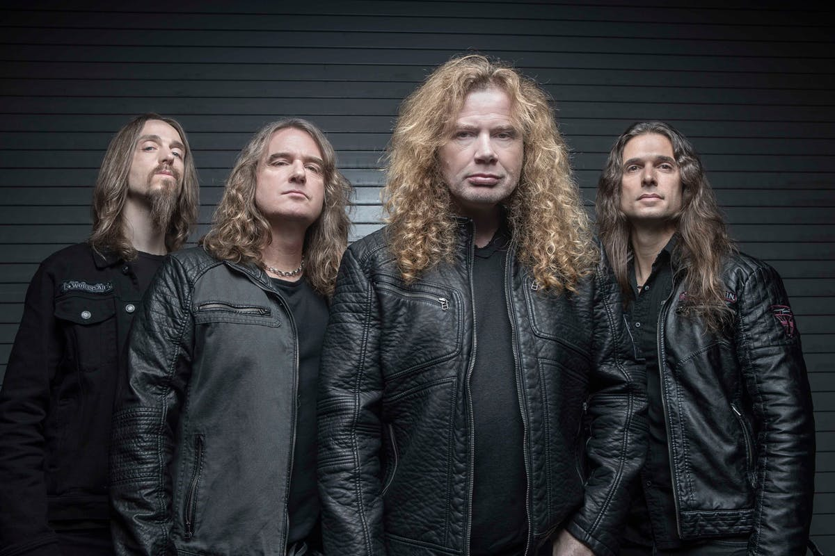 MEGADETH share European tour 2020 rehearsal photos!