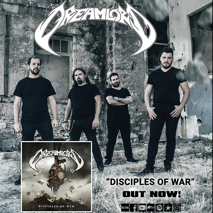 "DREAMLORD – ""Blinded eyes"" από το άλμπουμ ""Disciples of War"" …. +Official video."