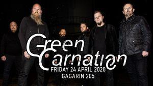Οι GREEN CARNATION θα εμφανιστούν για πρώτη φορά στην Αθήνα τον Απρίλιο!!