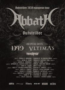 ABBATH kick off European tour with VLTIMAS & 1349!
