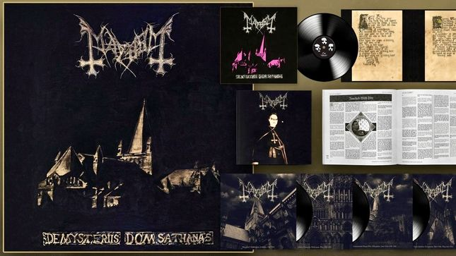 MAYHEM – Limited Edition 'De Mysteriis Dom Sathanas' 25th Anniversary Box Set Due In April