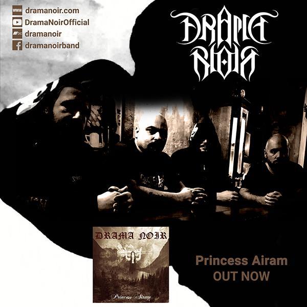 "DRAMA NOIR – ""The curse of Seth"" από το άλμπουμ ""Princess Airam"""