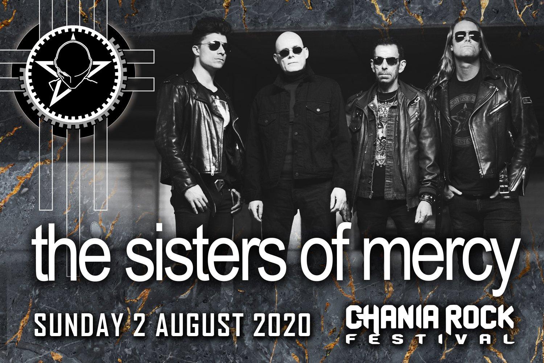 Οι SISTERS OF MERCY στο Chania Rock Festival 2020!!!