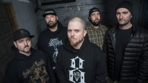 HATEBREED premiere new song 'When The Blade Drops'!