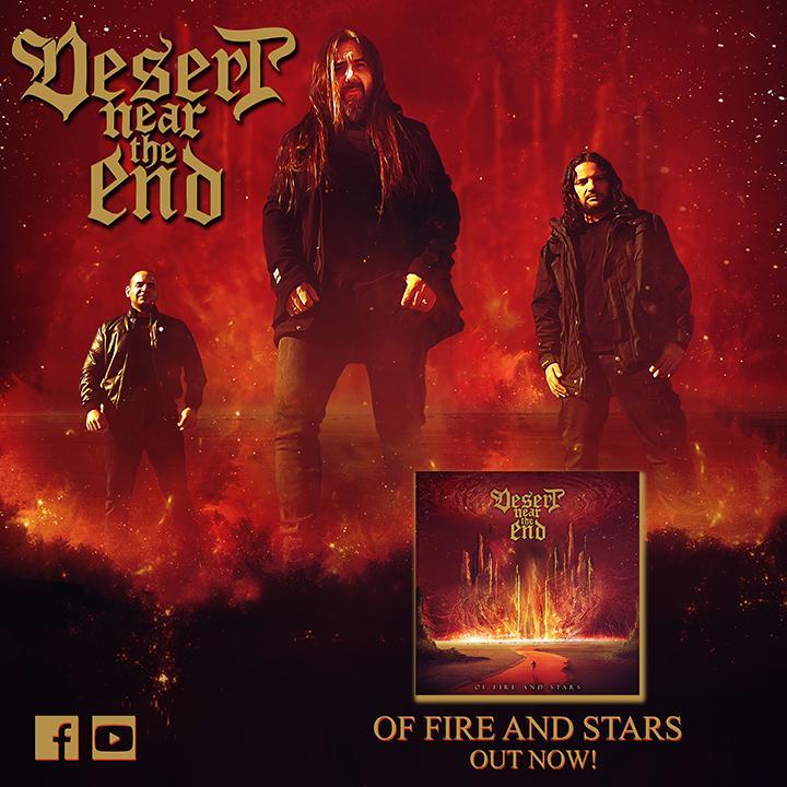 DESERT NEAR THE END – 'Of fire and stars' από το ομώνυμο άλμπουμ.