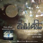 HAND OF FATE – 'Temptation'…Official lyric video!!…. από τo άλμπουμ 'Messengers of Hope'.