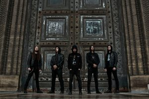Black Metallers REGARDE LES HOMMES TOMBER premiere 'The Renegade Son'.