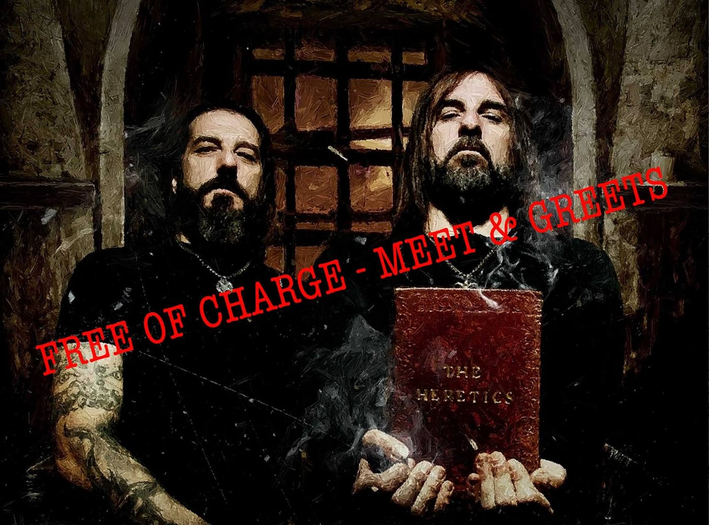 "ROTTING CHRIST: ""We won't accept any paying meet and greets""!"