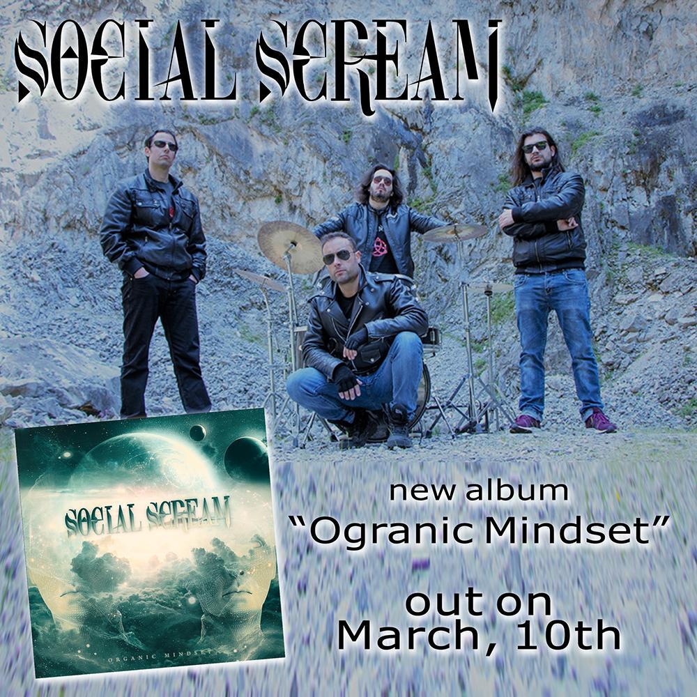 SOCIAL SCREAM – νέο άλμπουμ 'Organic Mindset'