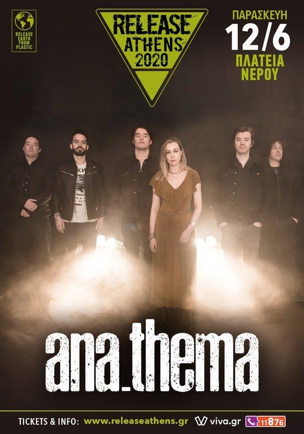 Οι ANATHEMA στο Release Athens 2020!