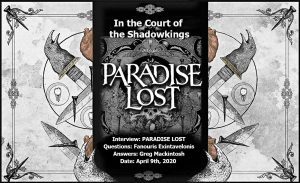 Paradise Lost – In the Court Of The Shadowkings